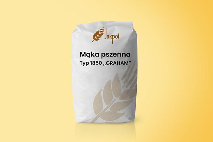 Mąka pszenna typ 1850 ,,GRAHAM''